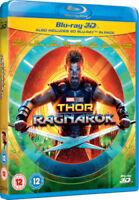 THOR RAGNAROK [Blu-ray 3D + 2D] UK Exclusive 3D Release Thor 3 Marvel Avengers