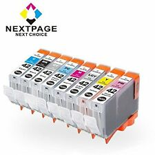 Nextpage 8 Pack Compatible Canon CLI-42 ink cartridge for Canon Pixma Pro-100