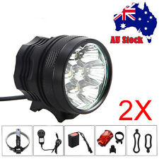 20000LM CREE T6 7 LED Mountain Bike Cycling Bicycle HeadLamp Head Light Lamp