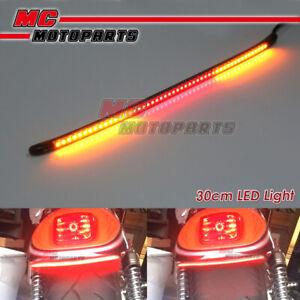 AMP-Z 30cm Smoke Integrated LED Tail Light bar Tube For Derbi motorcycles