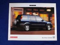 1997 HONDA CR-V CRV SALES DEALER BROCHURE CAR VINTAGE SPECS DIMENSIONS COLORS