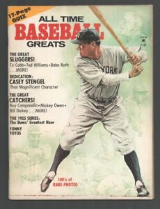 All Time Baseball Greats #4 1976-Ty Cobb-Ted Williams-Babe Ruth-Stan Musial-W...