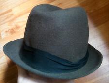 vintage man men hat brown Fedora Tonak Czechoslovakia 50s accessory hats Fedoras