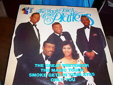 THE MAGIC TOUCH OF THE PLATTERS-LP-VG+-THE GREAT PRETENDER-ONLY YOU-STARPAK