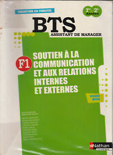 BTS ASSISTANT DE MANAGER / SOUTIEN A LA COMMUNICATION F1 / NATHAN TECHNQIUE 9782