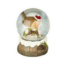 Heaven Sends Christmas Robin Snow globe Decoration - Christmas Gift Idea