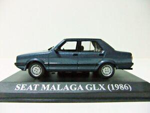 RARE SEAT MALAGA GLX (1986) PORTUGUESE NUMBE PLATE ALTAYA/IXO 1/43