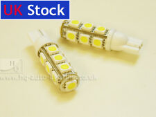 W5W T10 501 13 SMD LED WEDGE CAR SIDELIGHTS INTERIOR BULBS 2pcs A