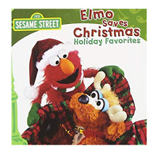 SESAME STREET - ELMO SAVES CHRISTMAS CD