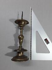 candeliere in bronzo del XVII sec. h. 25cm c.