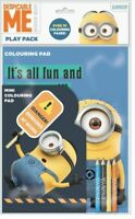 MINIONS PLAY PACK  Activity Colouring Book Art Children/Kids CHRISTMAS GIFT