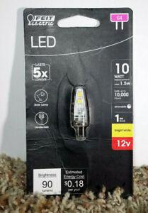 FEIT 10W 10 Watt 1.5 Watt LED G4 Light Bulb 3000K Bright White 12V Dimmable