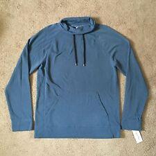 CALVIN KLEIN Mens Pullover Drawstring Funnel Neck Sweatshirt (Large) NWT $65