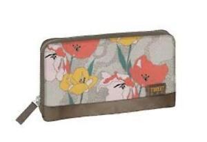 Portafoglio TWIIT CAMOSCIO & FLOWER, Cod. 57628