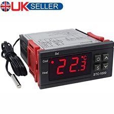 220V STC-1000 Digital Temperature Controller Temp Sensor Thermostat Control LCD