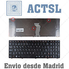 Keyboard Spanish for Lenovo T4G8-SPA Negro com Marco Negro