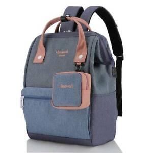 Himawari Bags Petunia 15 Laptop Backpack Lifestyle Fashion Water Resistant Denim