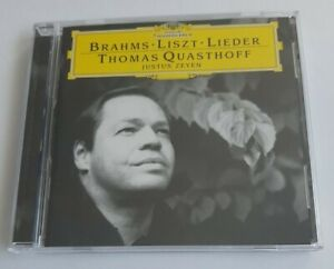 Thomas Quasthoff / Justus Zeyen / Brahms Liszt Lieder -  CD