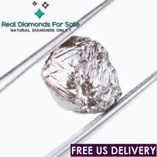 5.34 crt 9.88mm Rare Fancy Brown Uncut 100% Real Natural loose Rough Diamond