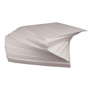 "CHEFworth Square Parchment Hamburger Patty Paper 5.5"" x 5.5"" - 1000 Sheets"