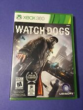 Watch Dogs *First Print* (XBOX 360) NEW