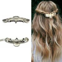 Hairpin Women Alloy Accessories Pin Eagle Medieval Long Raven Hair 1pc