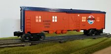 LIONEL #6733 Wood Sided Lighted Bunk Car