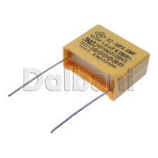 10pcs Polypropylene Safety Plastic Film Capacitor X2-MPX GMF 280V 1.0UF K Pitch