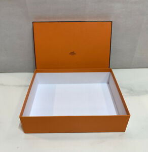 """Authentic HERMES Empty Box for Gift 11 x 9"""" x 3"""""""