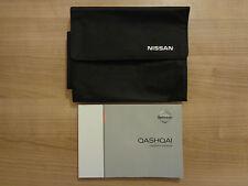 Nissan Qashqai Owners Handbook Manual and Wallet 15-17