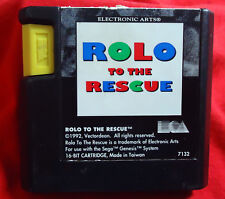 Rolo to the Rescue - 1992 Electronic Arts EA - SEGA Mega Drive MD PAL - 7132