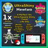 SHINY MEWTWO - Pokemon Sword & Shield - Ultra/Square Shiny 6IV Timid!