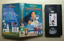 DISNEY - POCOHANTAS - VHS VIDEO - BRAND NEW & SEALED