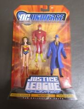 Wonder Woman The Flash The Question 3 Pack JUSTICE LEAGUE UNLIMITED DC Universe