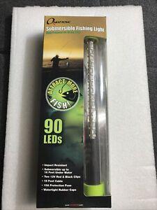 Nebo Quarrow High Powered 90 Green LED Submersible Fishing Light 630 Lumen #6061