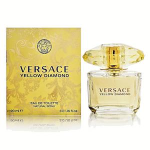 VERSACE YELLOW DIAMOND Perfume 3 OUNCE EDT NEW IN BOX FREE SHIP