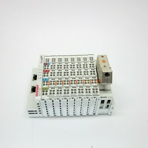BECKHOFF EK1100, EL9187, EL9186, EL1018 X3, EL2088 X2, EL6751 and EL9011