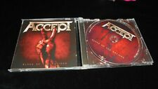 Accept – Blood Of The Nations 2010 Nuclear Blast MINT- CD metal doom glam power