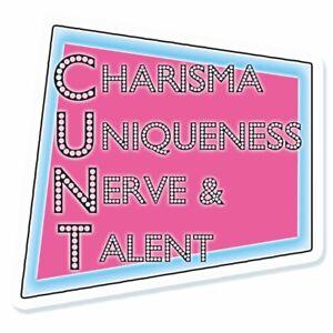 Charisma Uniqueness Nerve And Talent Drag Queen Drag Race Vinyl Sticker