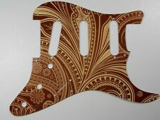 """Fender Stratocaster®  Pick Guard- 2124 Customs  """" Paisley Brown"""""""