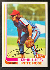 1982 Topps #780 Pete Rose Baseball Card  HIGH QUALITY! NM to NM/MT