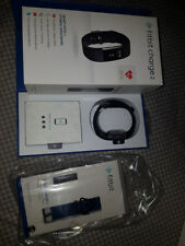 Fitbit Charge 2 Large Black and Blue Strap