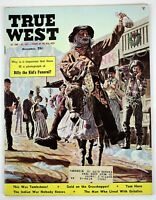 Dec 1960 TRUE WEST Mens Magazine, Billy the Kid's Funeral, Tom Horn, Indian Wars