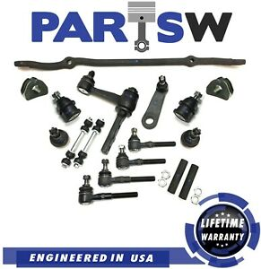 17 Pc Suspension Kit for Ford Expedition F-150 F-250 Navigator Tie Rod Linkages