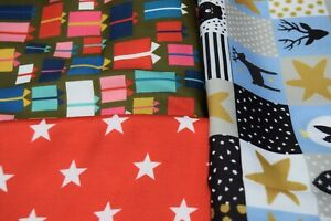 AEL ,CHRISTMAS PRINTED POLLYCOTTON, TOP QUALITY FABRIC ,PER METER