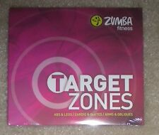 Zumba Fitness Target Zones Three DVD Set Brand New & Sealed