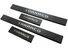 Edelstahl Carbon Einstiegsleisten für Seat Tarraco