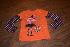 """B36- """"The Ghoulest Of Friends"""" Top Size Girls M (7-8)"""