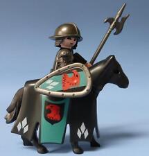 Playmobil Falcon Knight en vestida Caballo Rojo Escudo & Weapon-Castillo justas