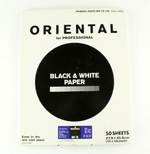 "*Oriental Seagull Rp-M Premium M-2 Black & White Paper 11""x14"" 50 Sheets"